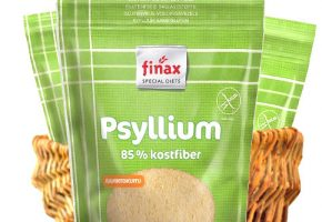 Flohsamenschalen (Psyllium), Glutenfreier Ballaststoff, 200g, Finax