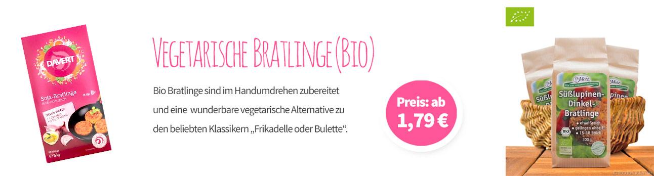 Bio Bratlinge - Banner