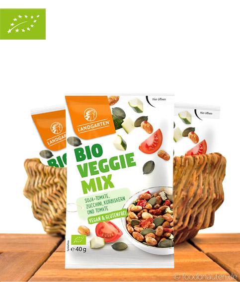 Bio Veggie Mix, Soja & Tomate Vegan & Glutenfrei, 40g, Landgarten