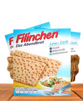 Filinchen - Das Abendbrot, Low Carb, Eiweißreich & Ballaststoffreich, 100g
