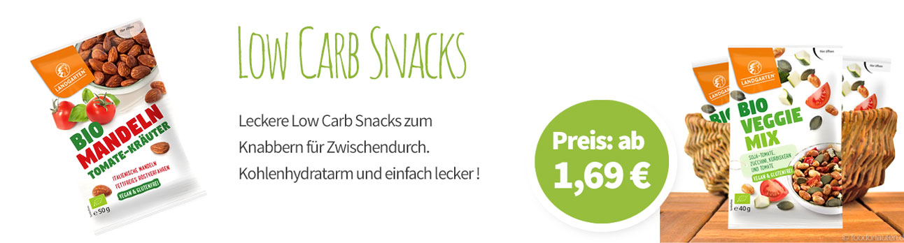 Low Carb Snacks - Banner