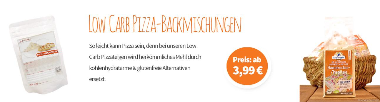 Pizza Backmischungen - Banner