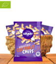 Roasted Coconut Chips, Sweet Chili, Bio-Qualität, 40g, Davert