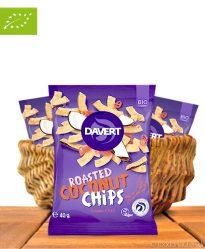 Roasted Coconut Chips, Sweet Chili, Bio-Qualität, 40g, Davert