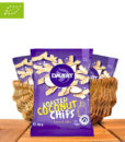 Roasted Coconut Chips, Sweet & Salty, Bio-Qualität, 40g, Davert