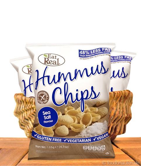 Kichererbsen-Chips Meersalz, Ohne Zuckerzusatz & Glutenfrei, 135g, Eat Real