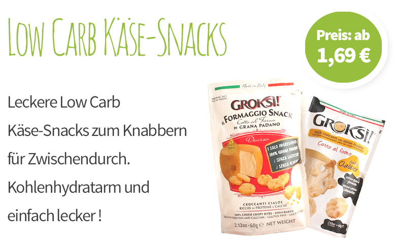 Low Carb Käsesnacks - Banner - Mobile